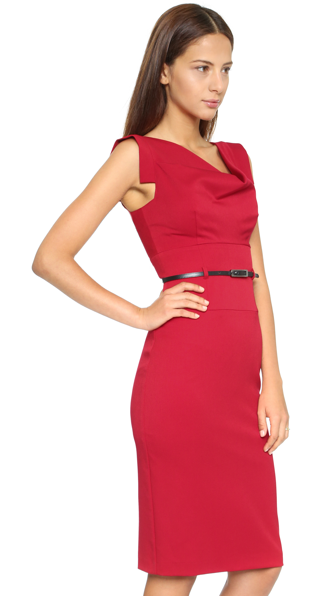 Black halo Jackie O Dress in Red  Lyst