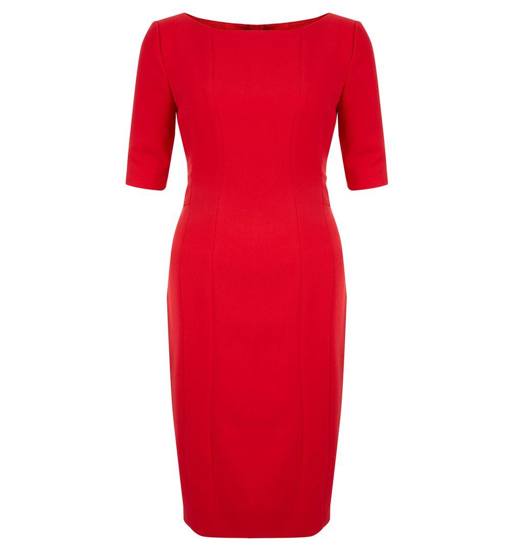 Hobbs Megan Dress In Red Lyst
