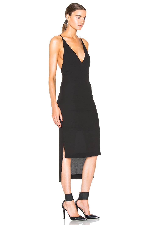 Dion lee black dress