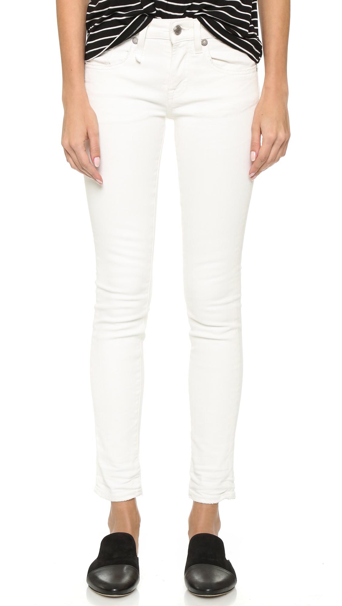 Riot skinny jeans - White R13 RIA73Jgm