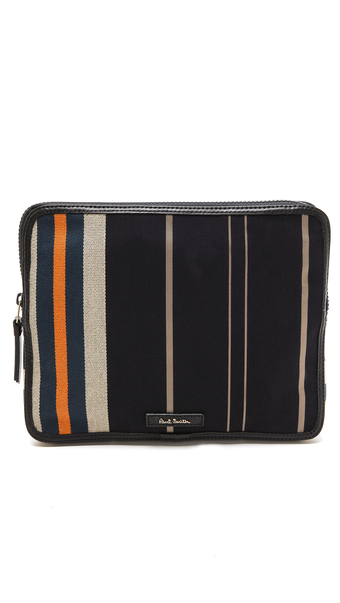 lyst paul smith regiment stripe ipad case in blue for men. Black Bedroom Furniture Sets. Home Design Ideas