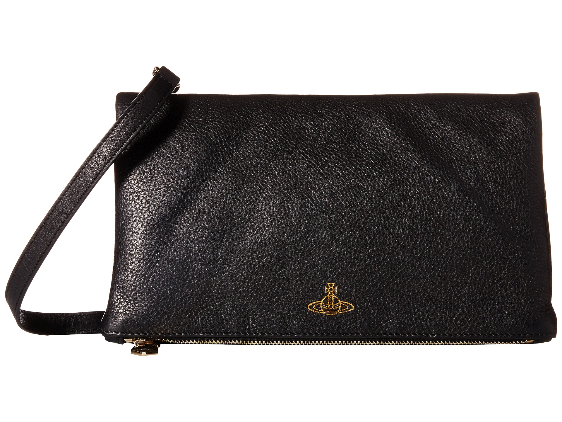 3e84f7a60a6 Vivienne Westwood Spencer Crossbody Clutch in Black - Lyst