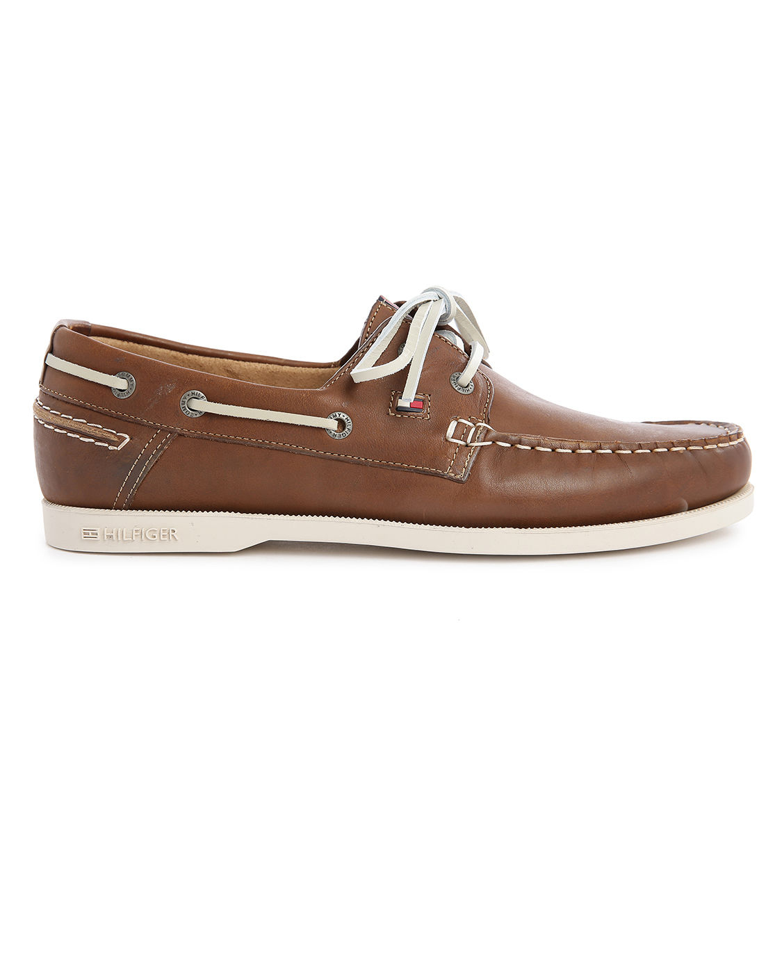 Mens Camel Boat Shoes