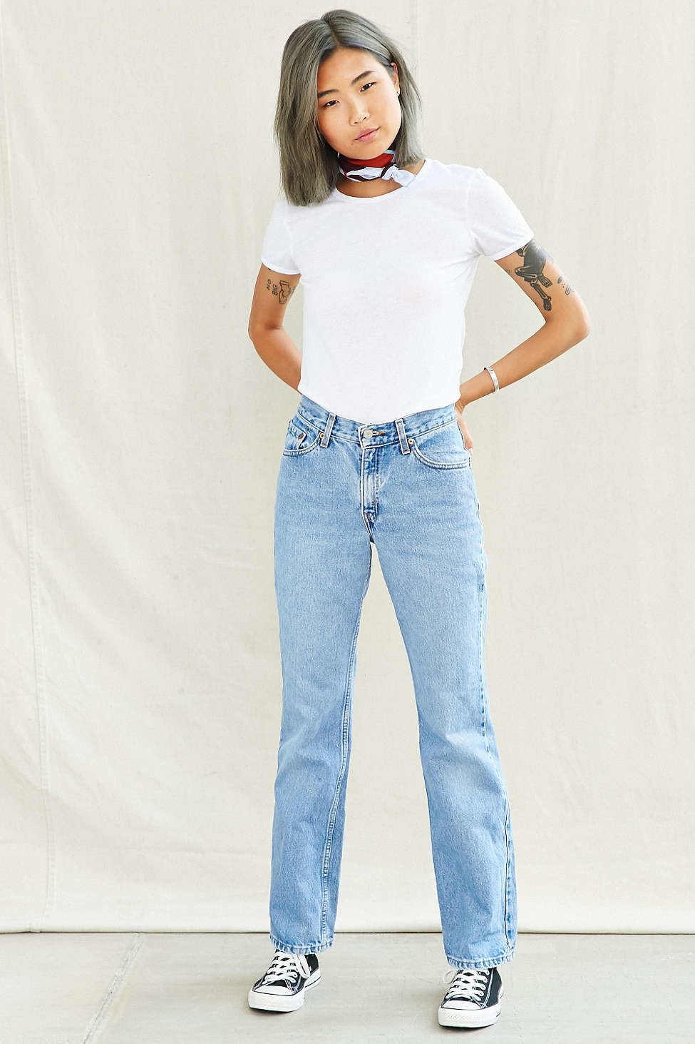 bf31be91 Urban Renewal Vintage Levi's 517 Jean in Blue - Lyst