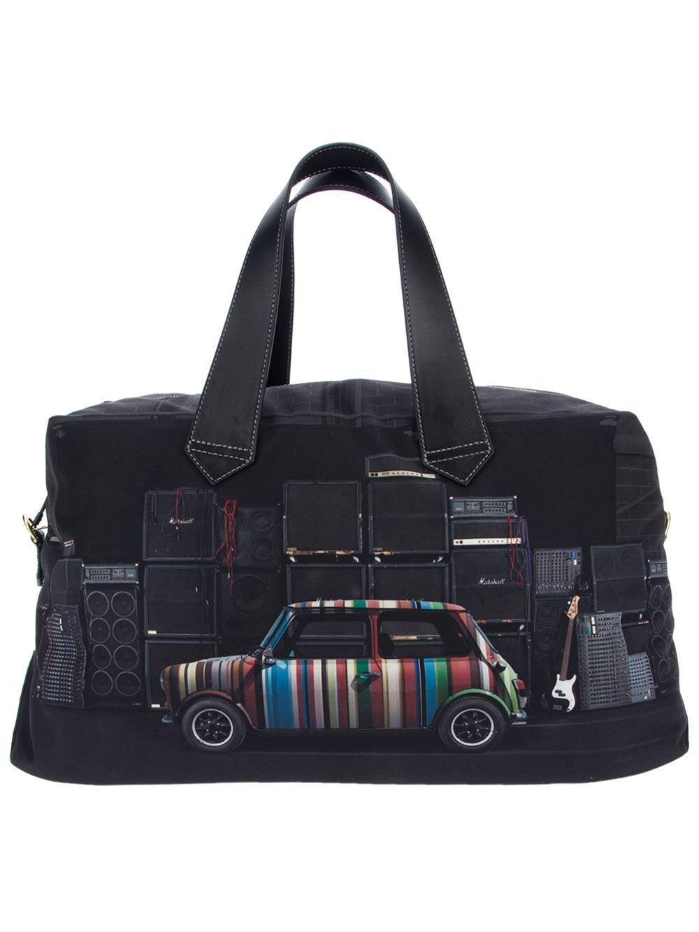 e2e775a732 Paul Smith  mini Cooper  Travel Bag in Black for Men - Lyst