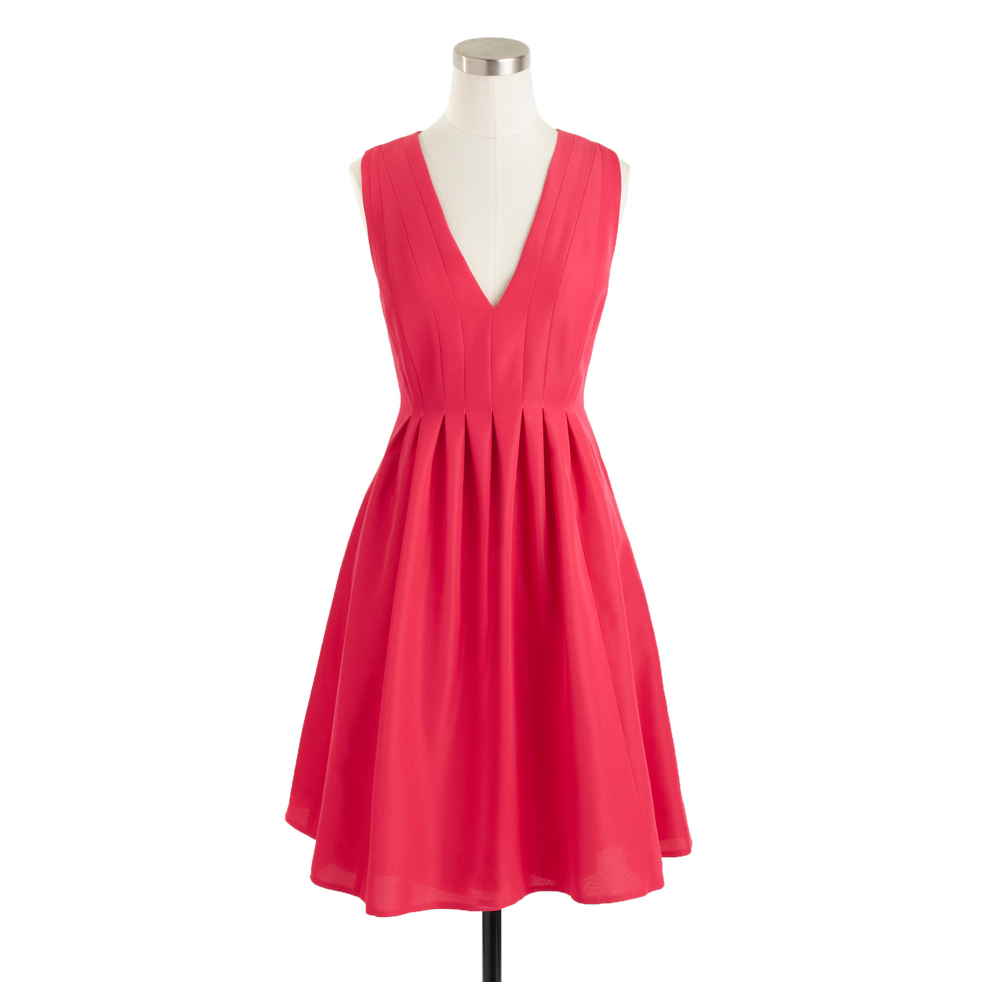 Sophie Dress: J.crew Sophie Dress In Classic Faille In Pink