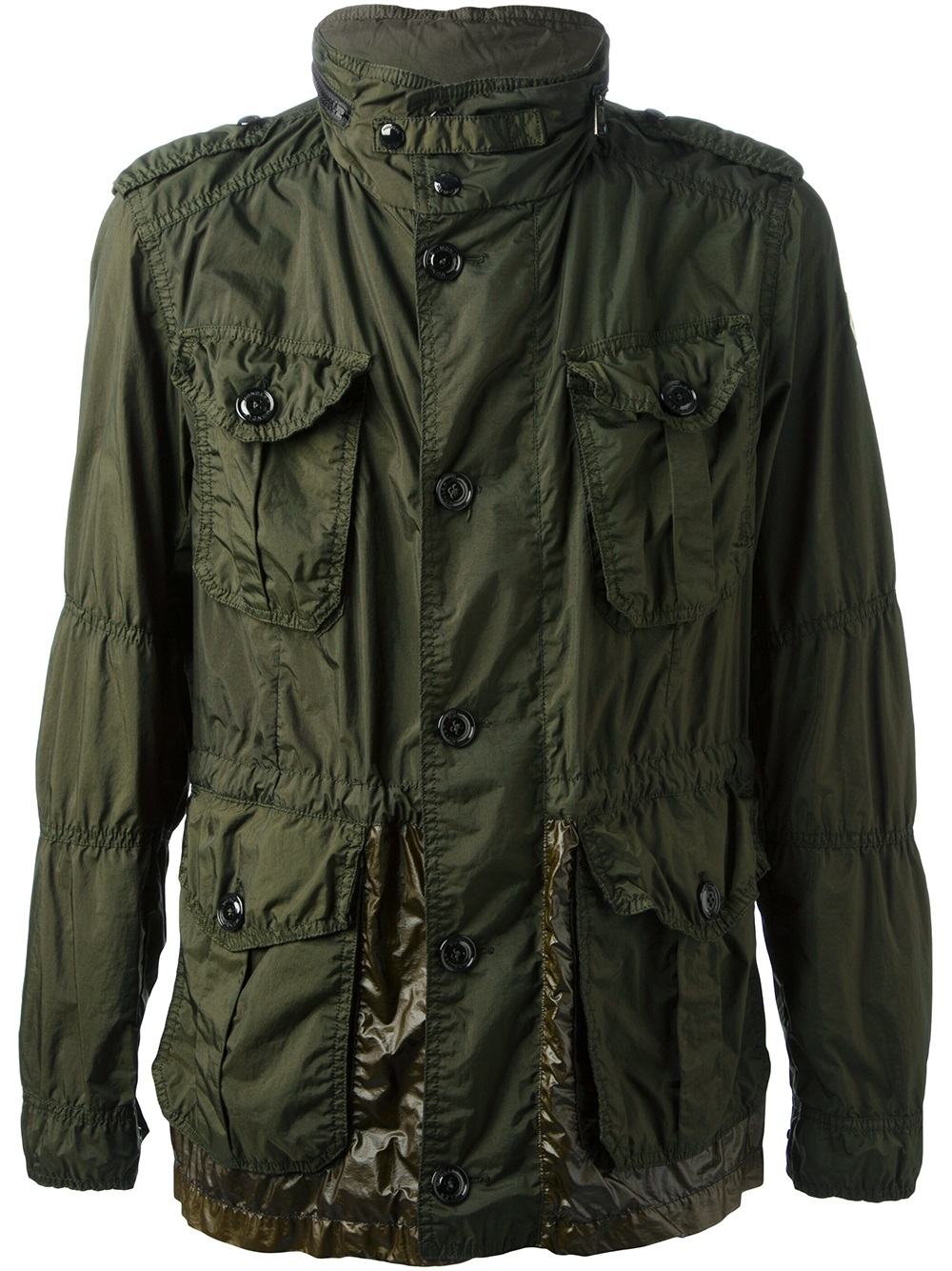moncler military jacket