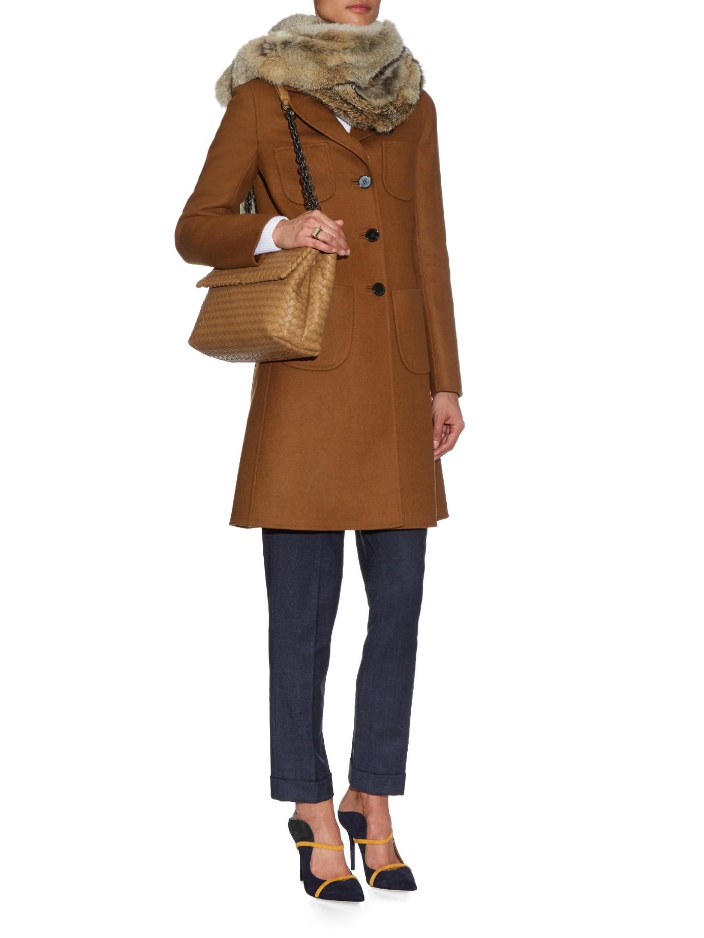 2b40f8f327 Bottega Veneta Olimpia Intrecciato Leather Shoulder Bag in Natural ...