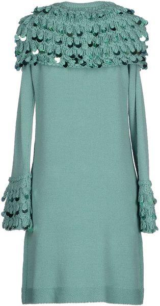 Cheaper Green Full-Length Jacket By Maria Grazia Severi Office