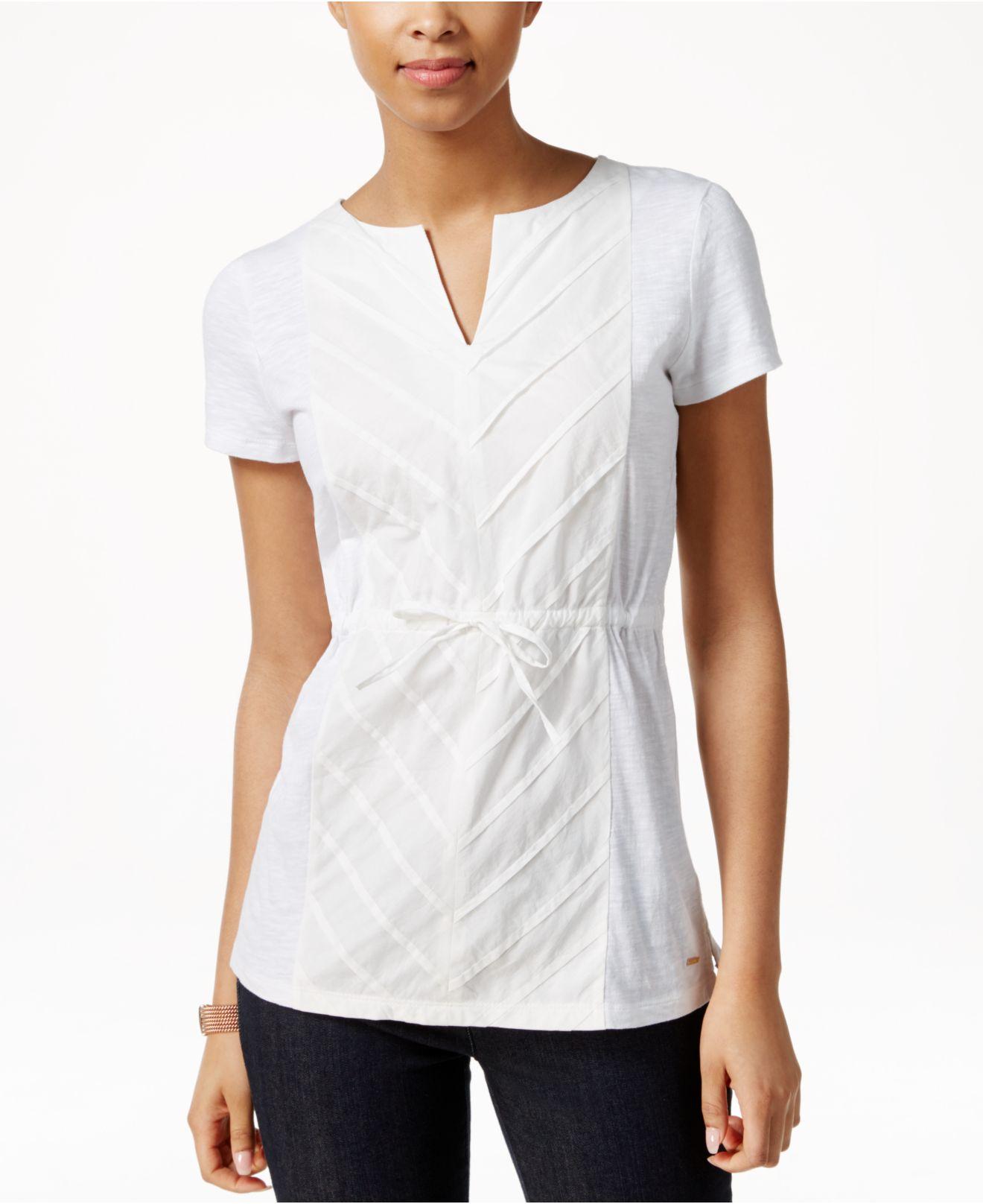 Macys Tommy Hilfiger Womens Shirts Anlis