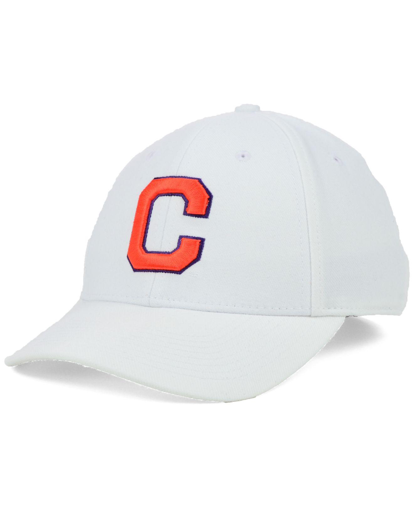 bc96807b740 ... ebay lyst nike clemson tigers dri fit swooshflex cap in white for men  f706c 05ce9