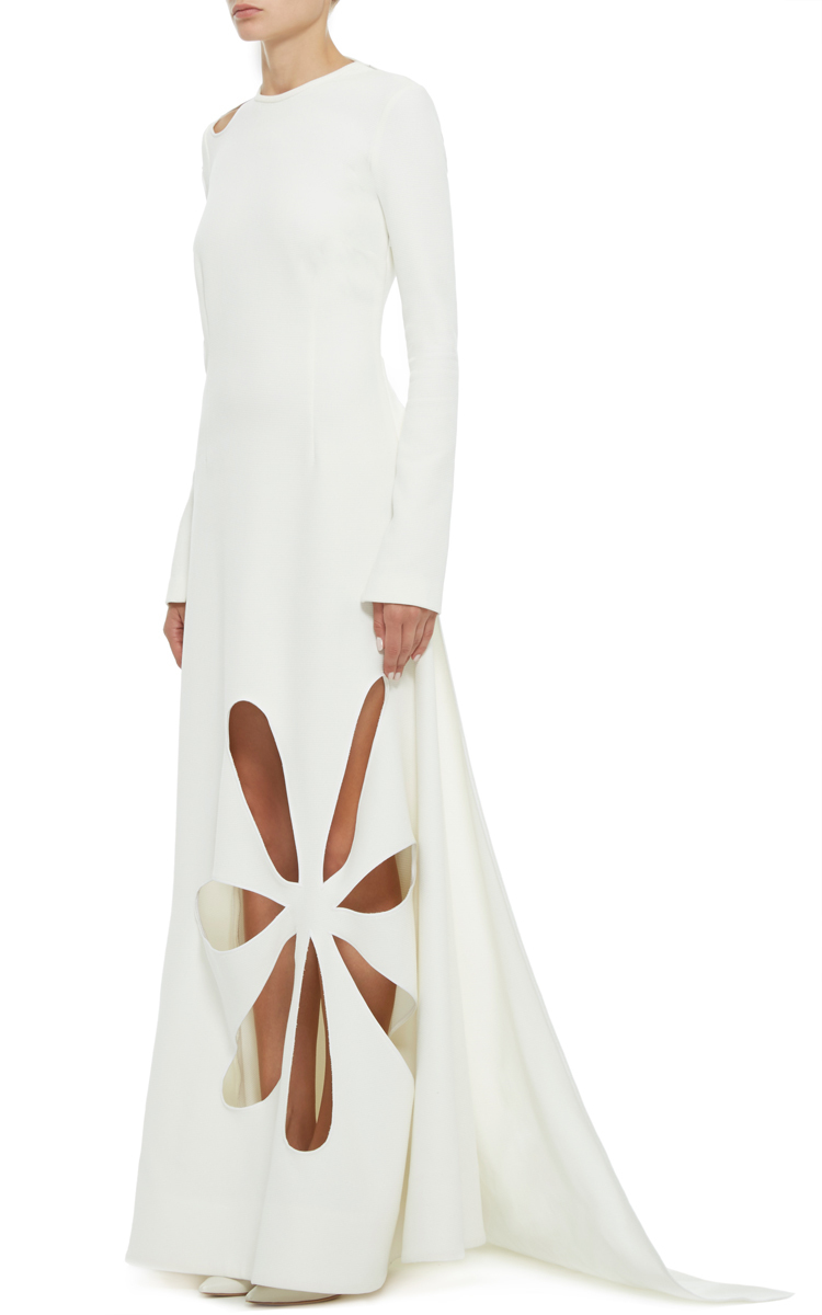 Lyst - Rosie Assoulin Matisse Cut Out Gown in White