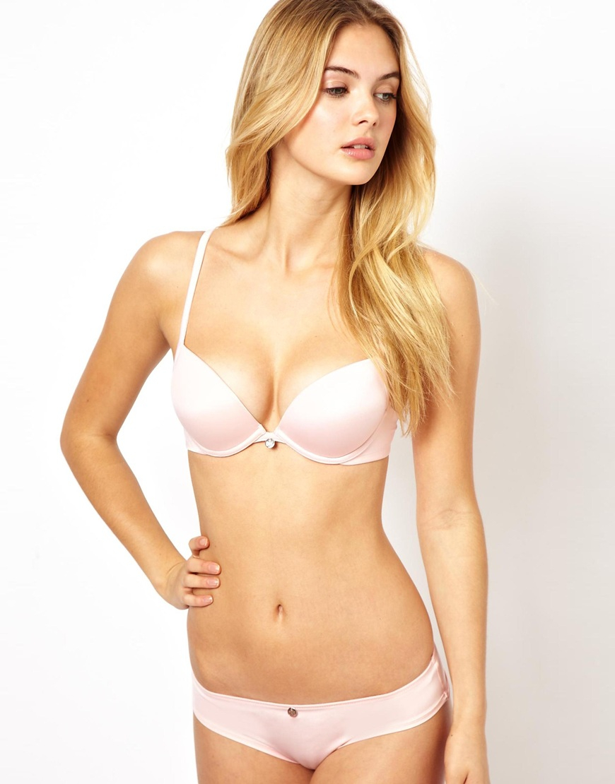 d9d782b9b9 Lyst - Ultimo The One Baby Pink Everyday Fashion Bra in Pink