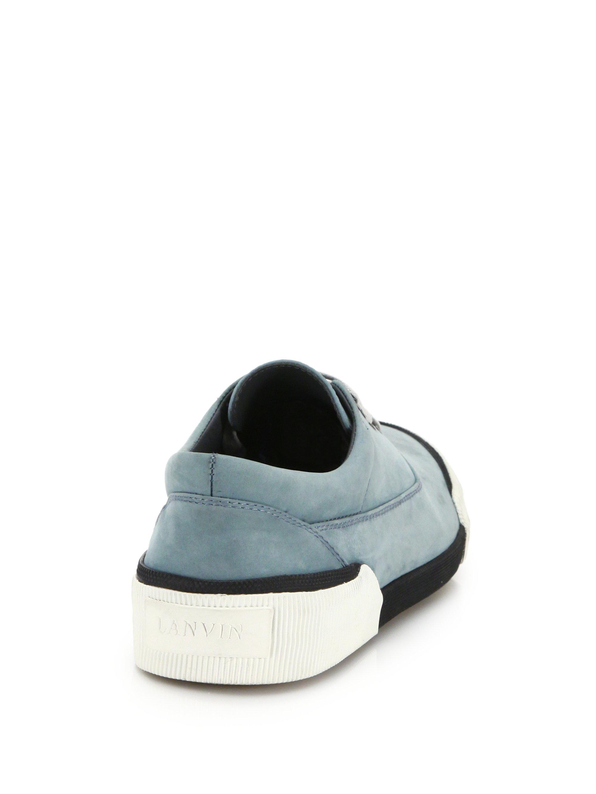 Oxford sneakers - Blue Lanvin q9c0tb