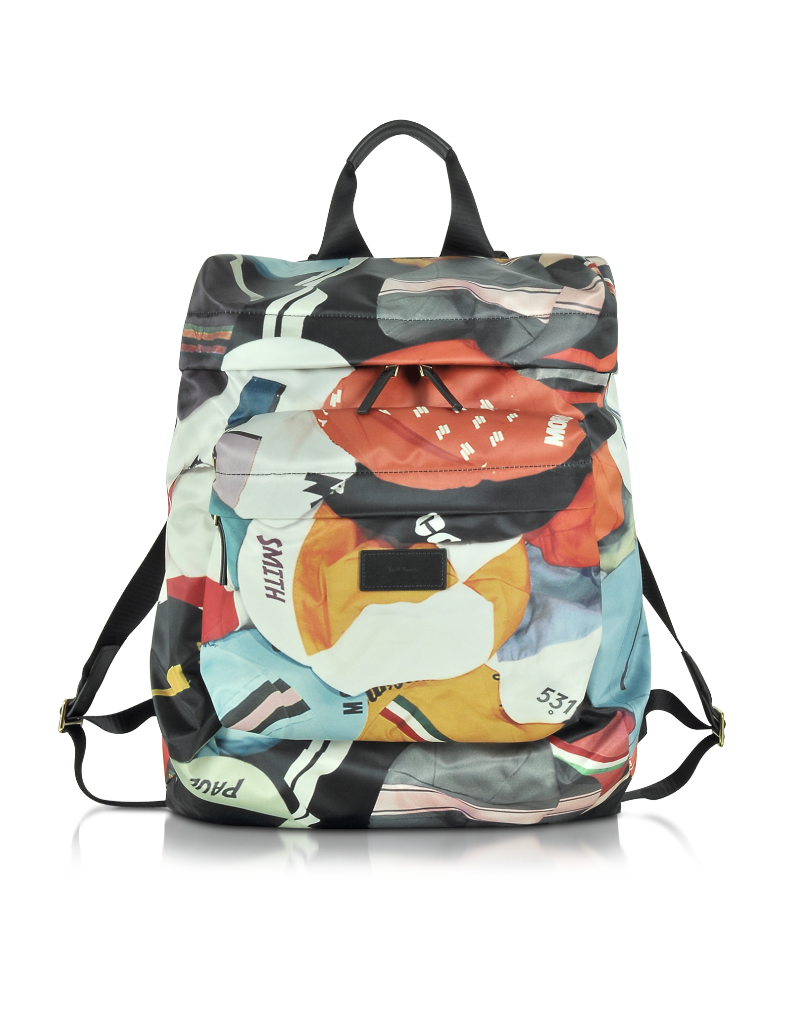 Lyst - Paul Smith Cycling Caps Water-resistant Printed Backpack for Men 8c70f43cb