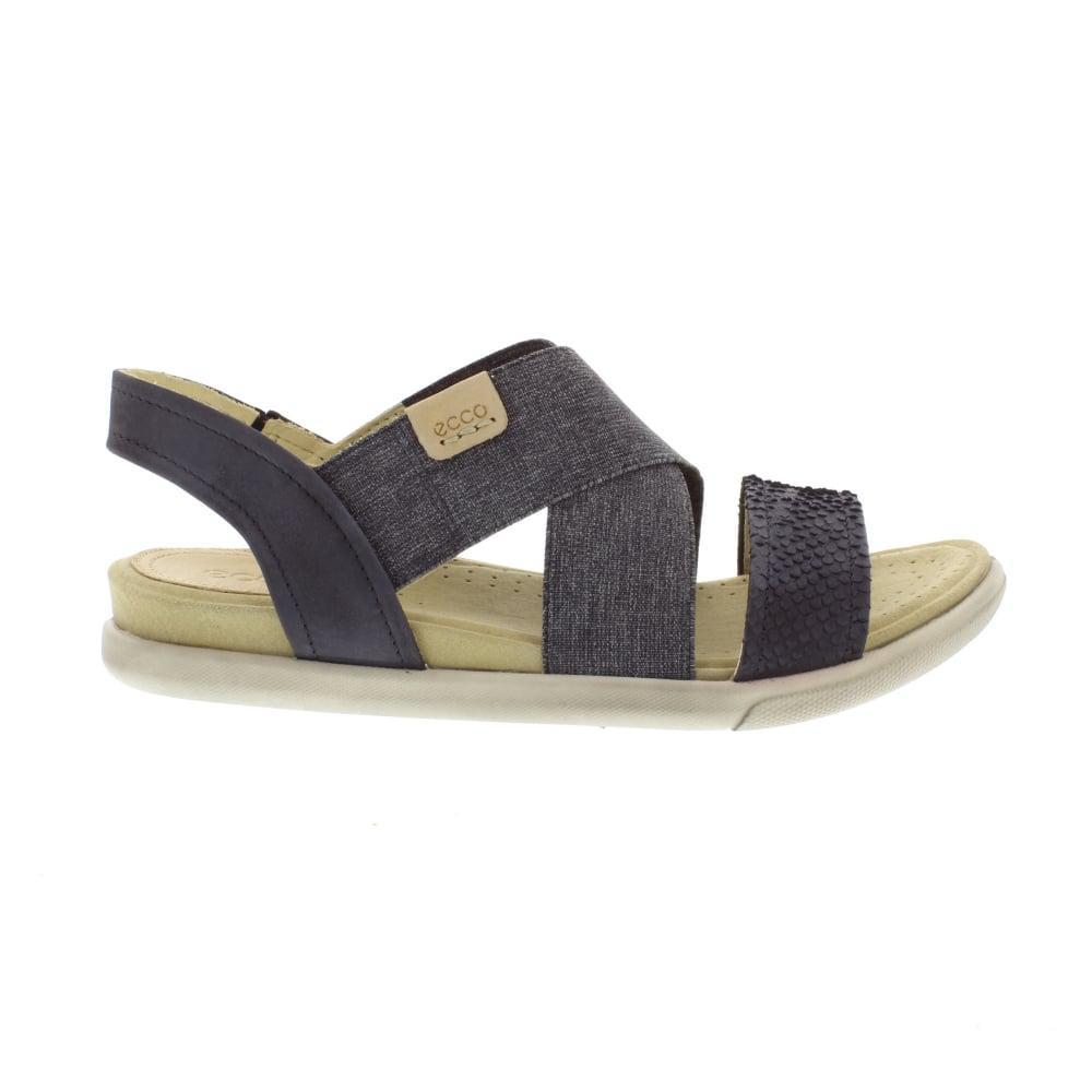be6b9c1bc236 Lyst - Ecco 248223 Damara Sandal in Black