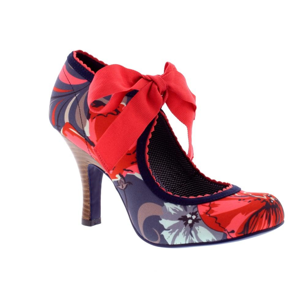 Ruby Shoo Willow In Red Lyst