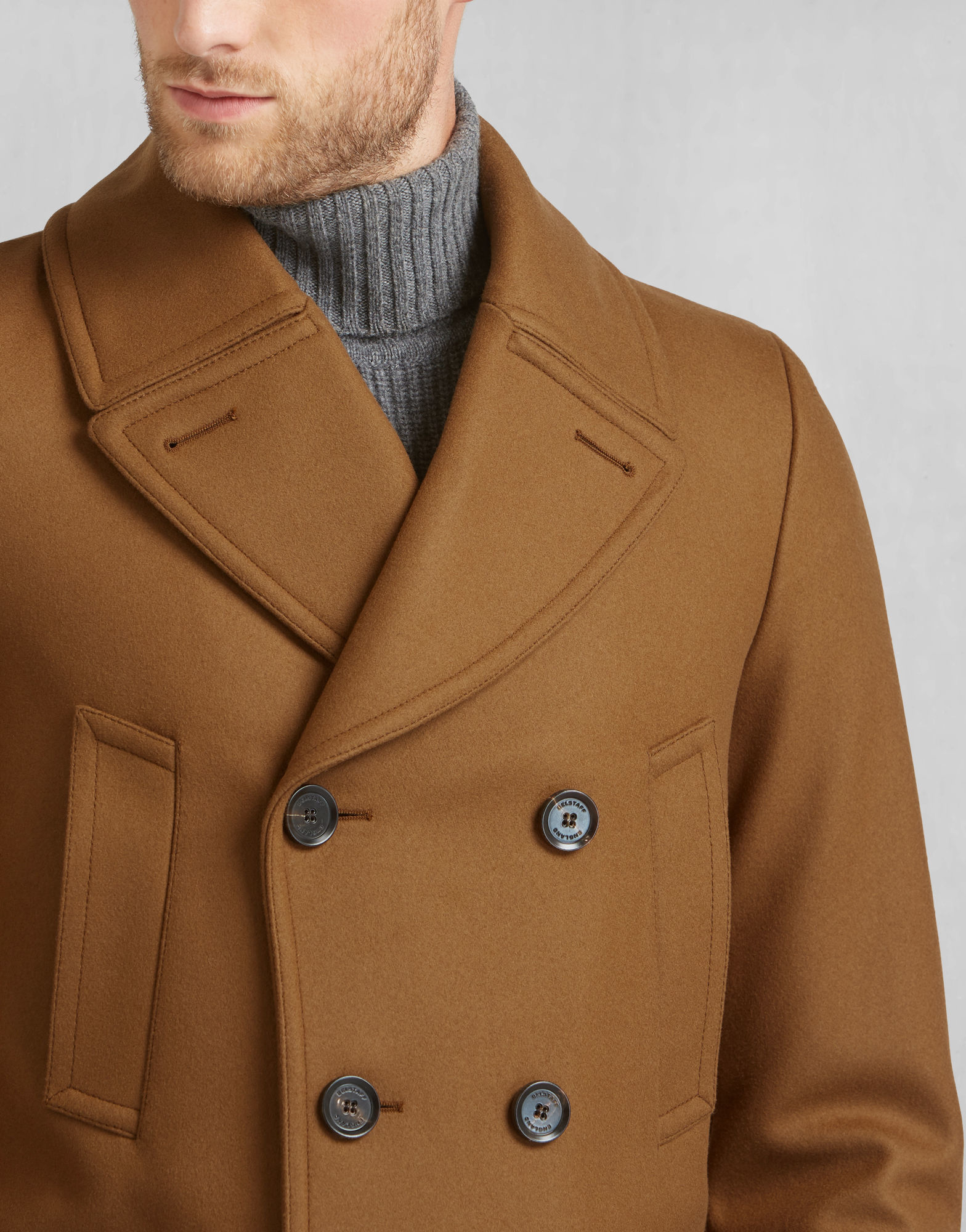 Lyst Belstaff New Milford Trench Coat In Heritage Khaki
