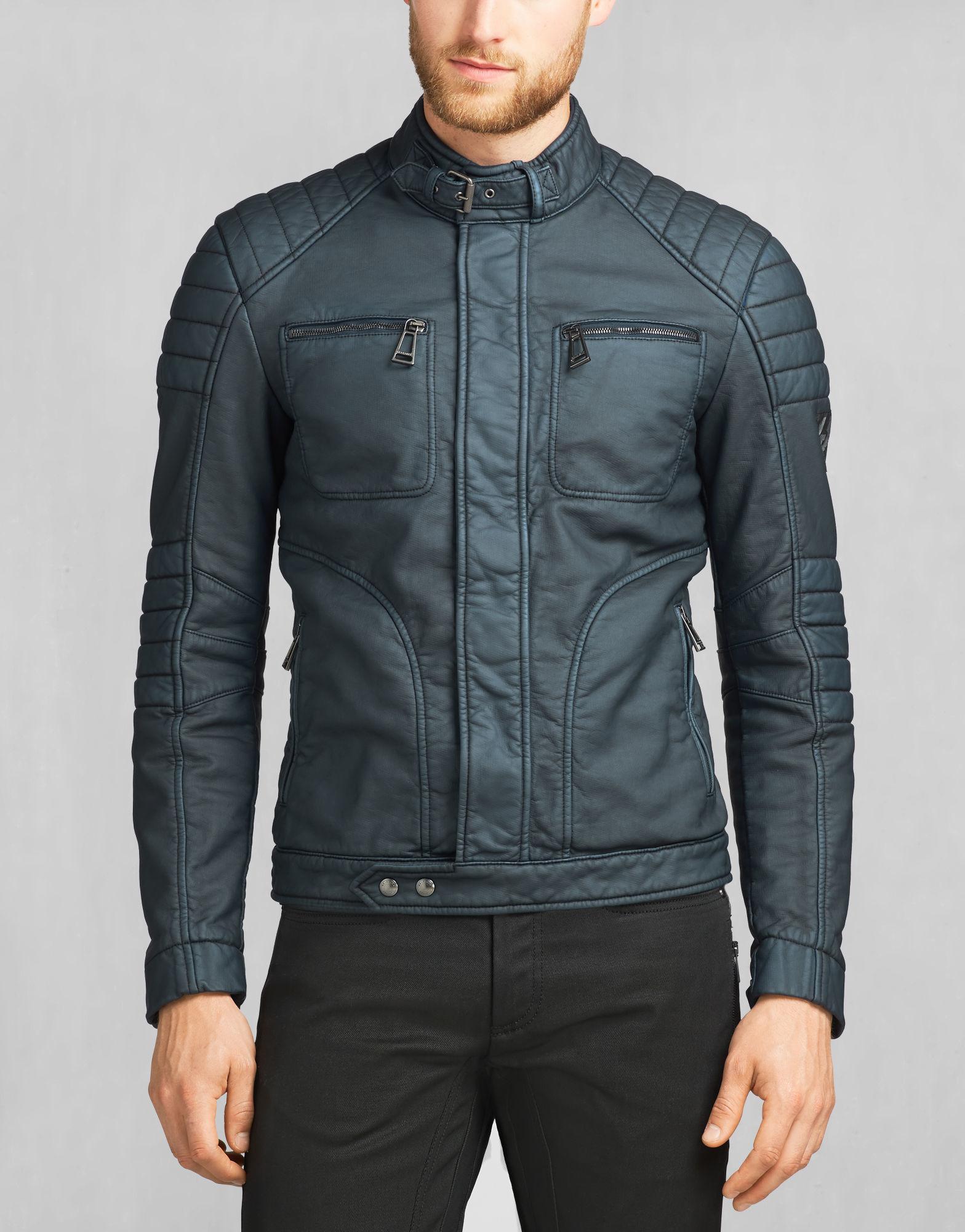 belstaff weybridge jacket in blue for men lyst. Black Bedroom Furniture Sets. Home Design Ideas