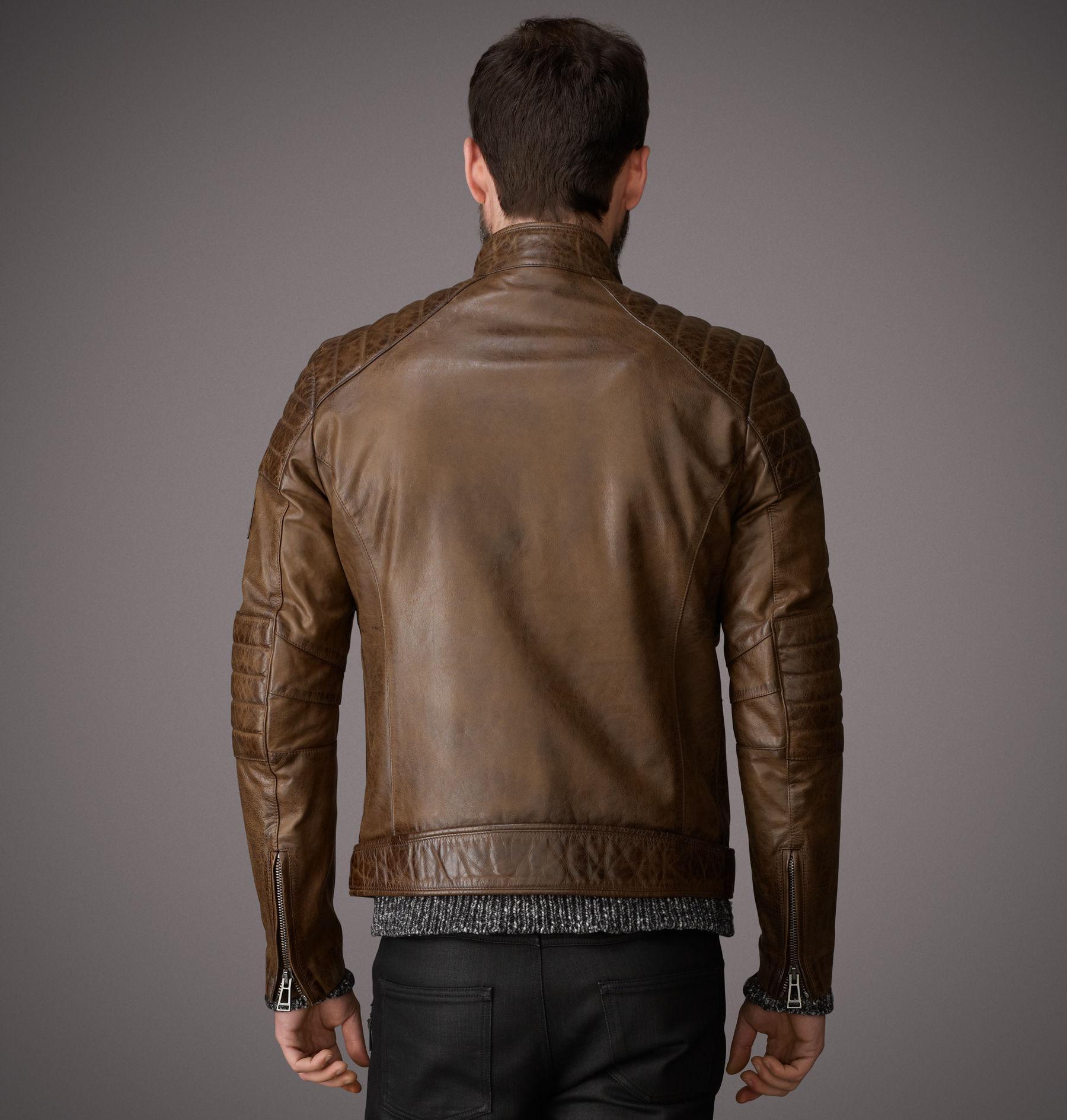 c7de66273f Belstaff Weybridge Jacket in Brown for Men - Lyst