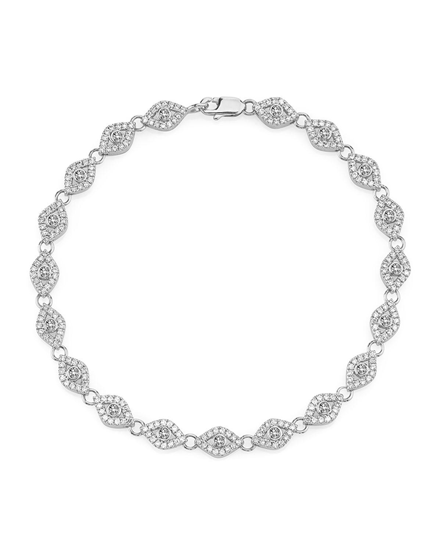 Sydney Evan Continuous Eye Link Bracelet DoM4gD5t
