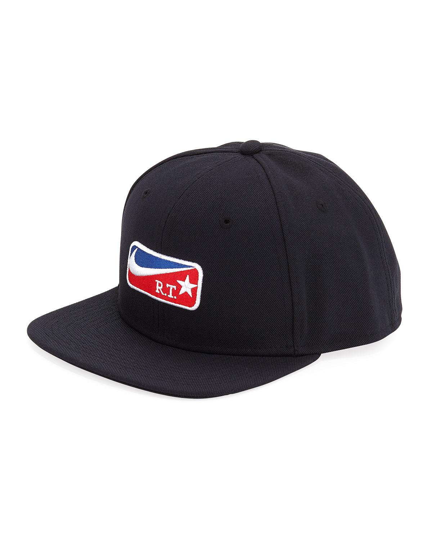 63514ff36ab7e ... france nike lab x rt pro flat bill cap in black for men lyst daac5 87450
