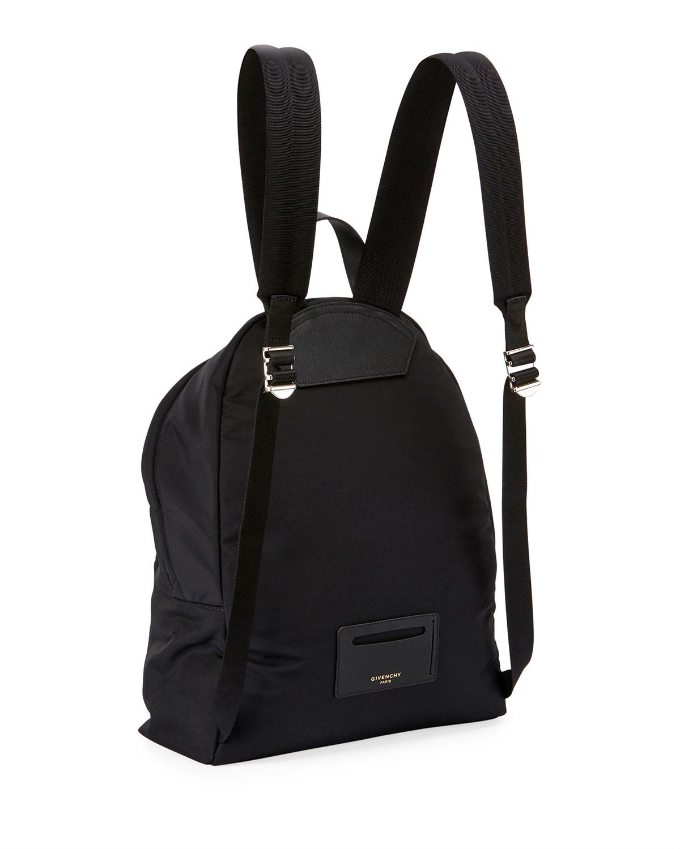 Lyst - Givenchy Shark-print Nylon Backpack in Black 249cadb0ab614
