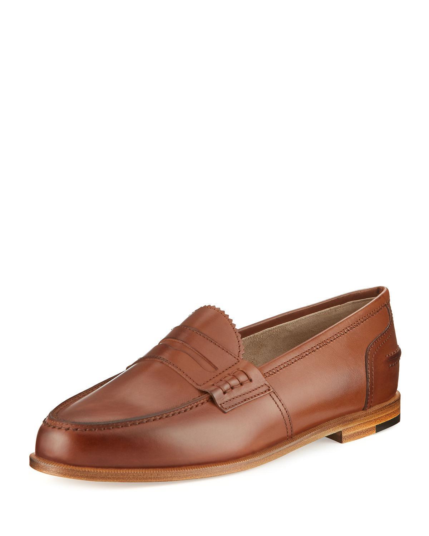 9f156233e06 Lyst - Manolo Blahnik Ellen Leather Penny Loafer for Men