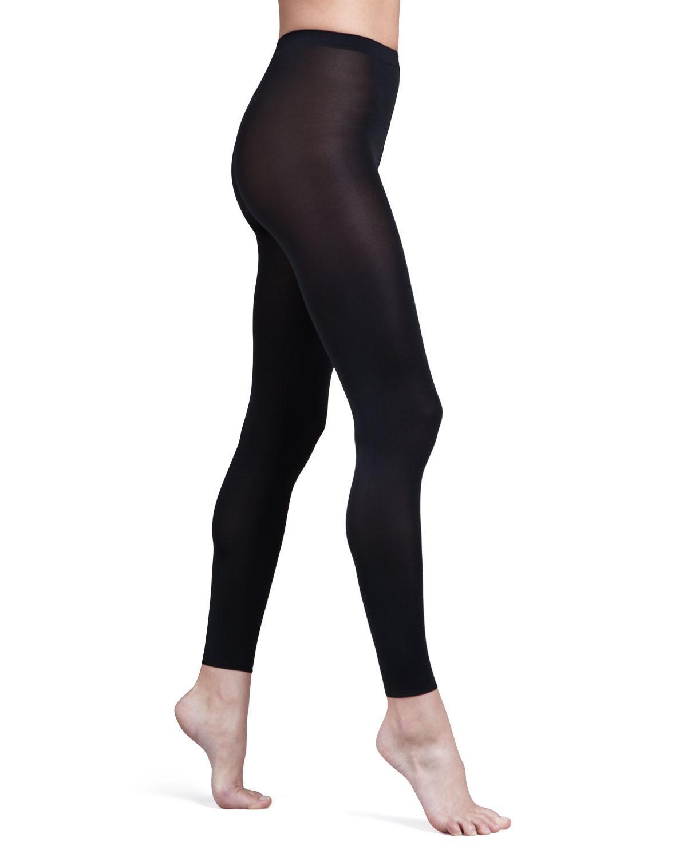 a2b128aa654 Wolford Velvet Leggings in Black - Save 14% - Lyst