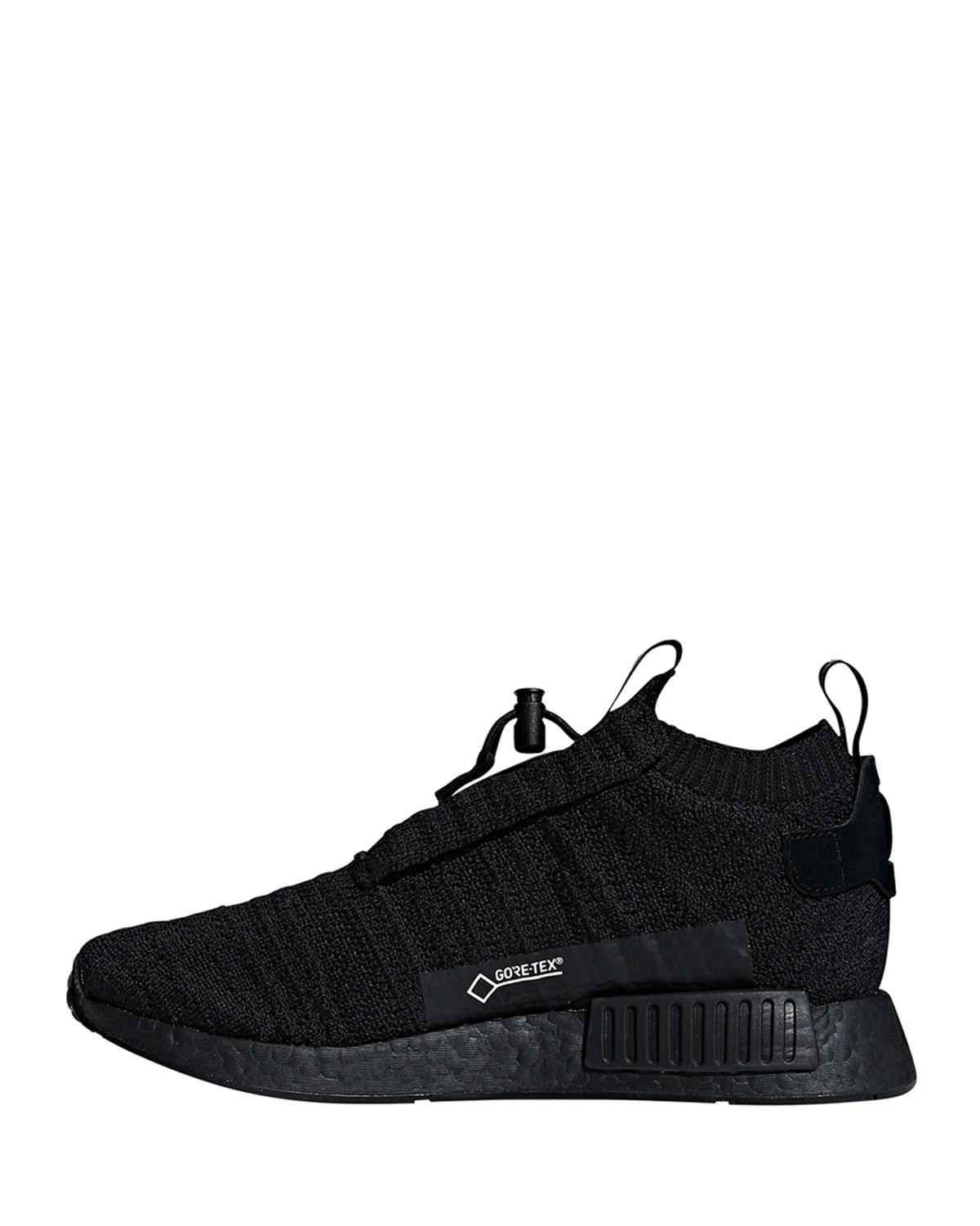 4911cd57fc3dc Lyst - adidas Men s Nmd Ts1 Primeknit Trainer Sneakers in Black for Men