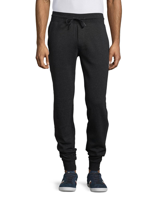 bcba300d0a04 Lyst - Moncler Slim-fit Jogger Pants in Gray for Men