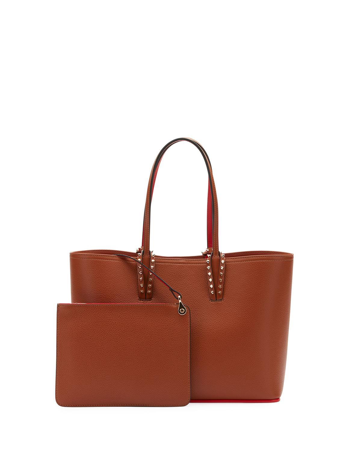 d934f6f36fd Lyst - Christian Louboutin Cabata Small Empire Paris Tote Bag in Brown