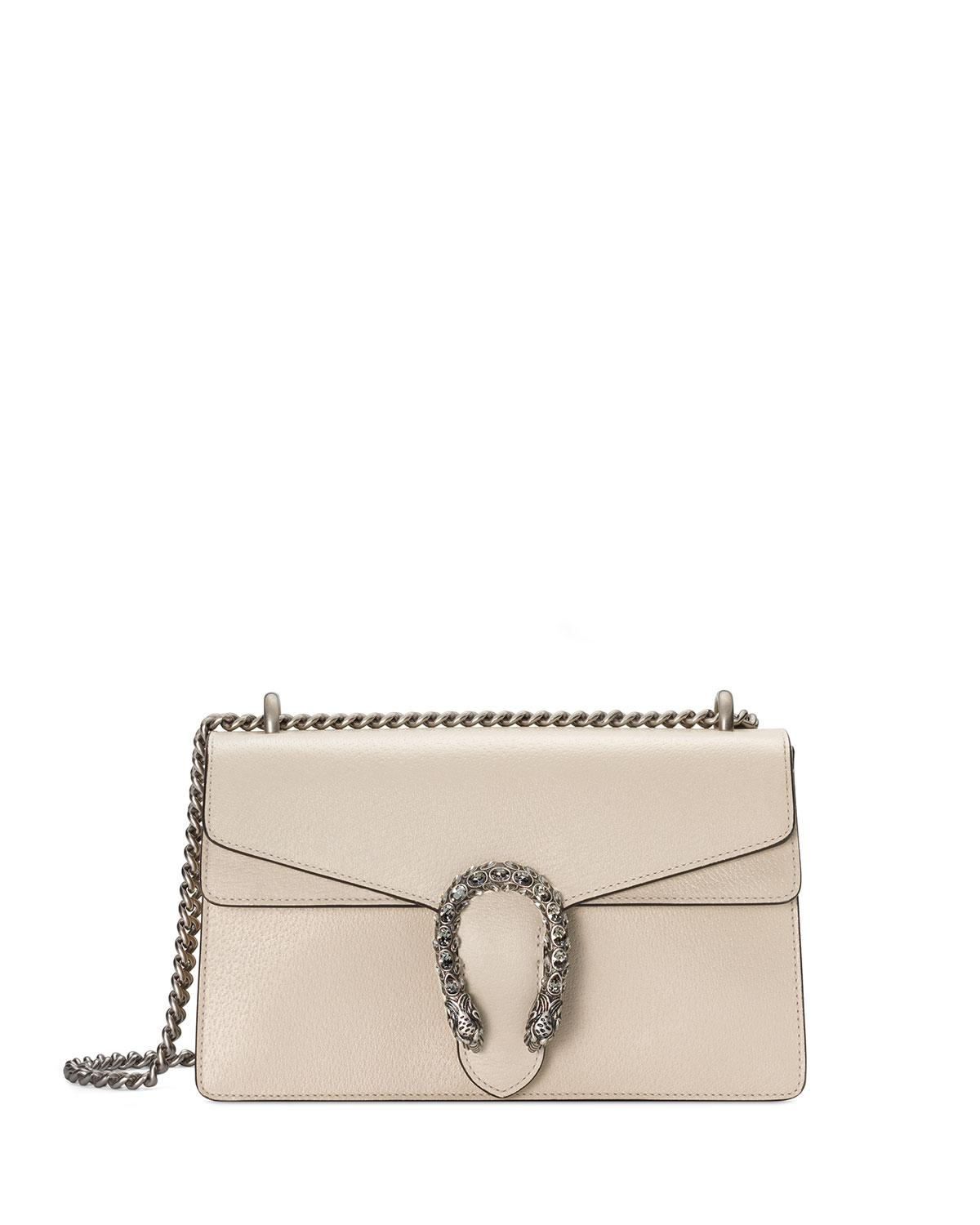 3c7945c2d29 Lyst - Gucci Dionysus Small Shoulder Bag in White