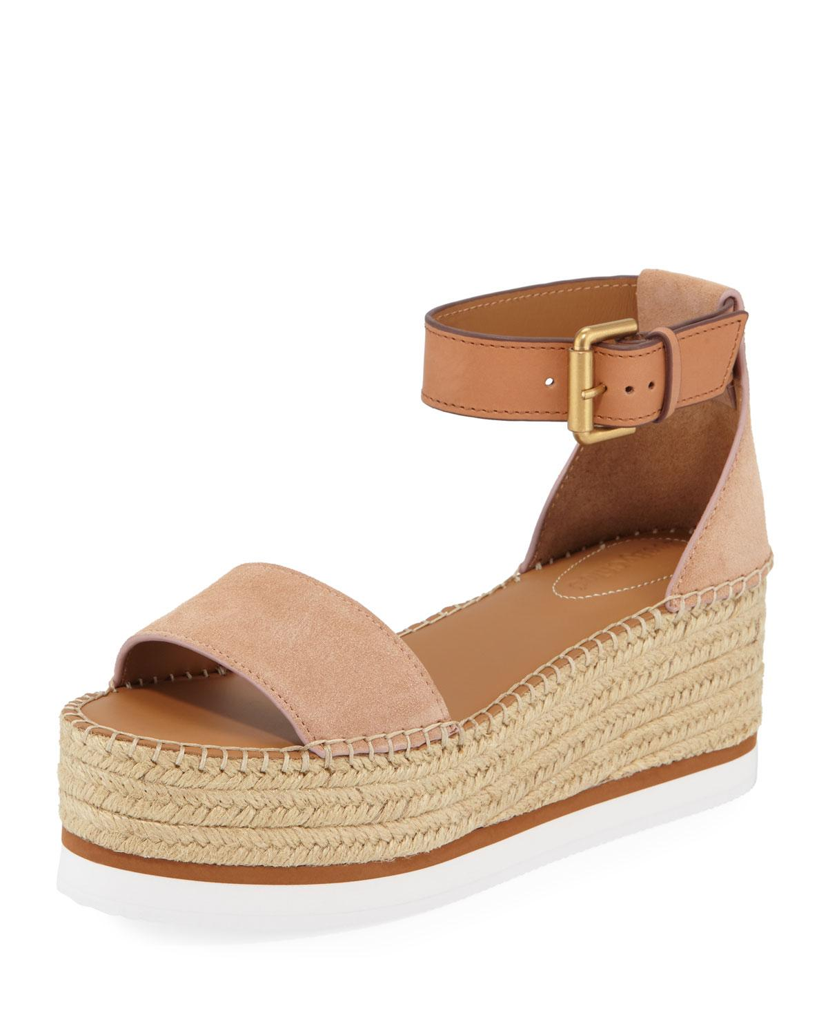 a23730e91 Lyst - See By Chloé Sb32201a Women's Espadrilles / Casual Shoes In ...