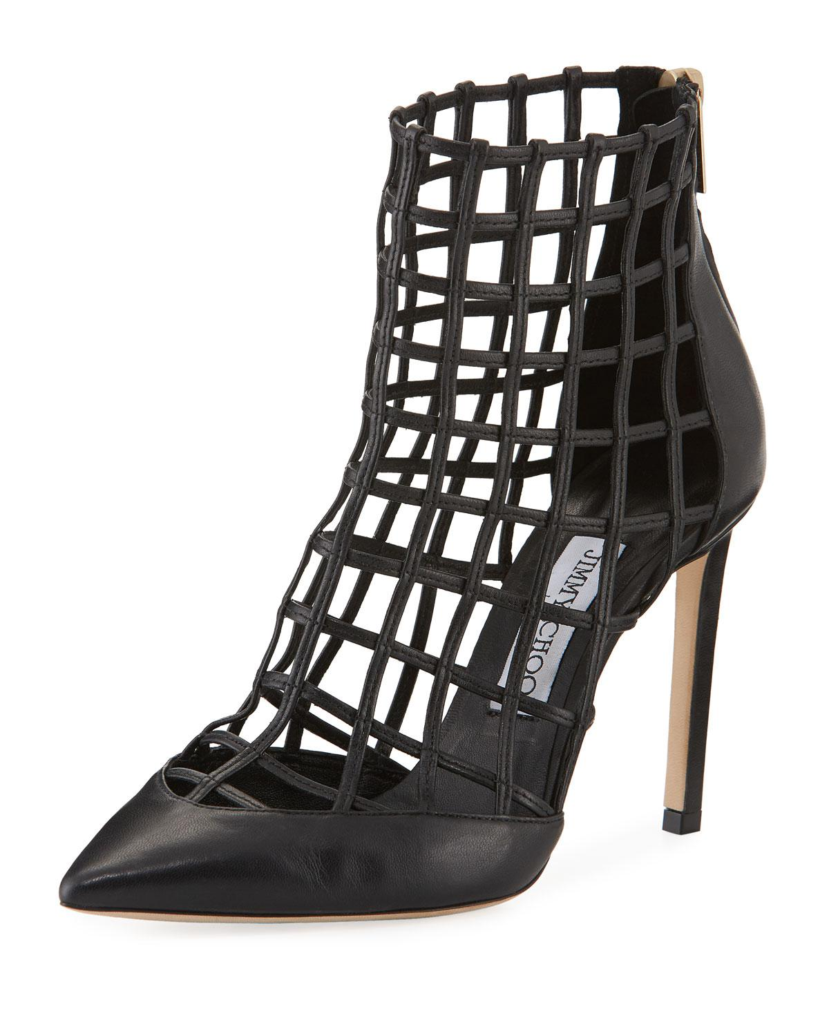 Jimmy choo Ankle Boots SHELDON 100 nappa leather