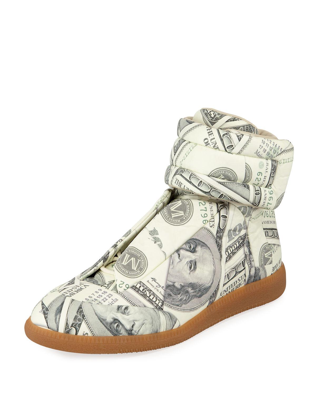 8d6590746028d Lyst - Maison Margiela Men s Future Money High-top Grip Sneakers