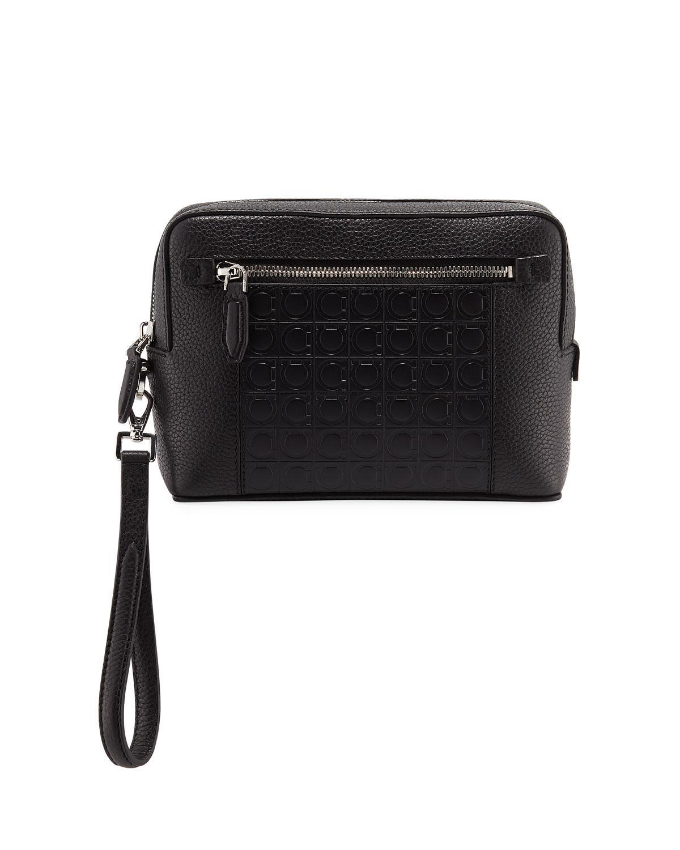 Lyst - Ferragamo Men s Firenze Gamma Textured Leather Belt Bag in ... 9a90b5db8c2c4