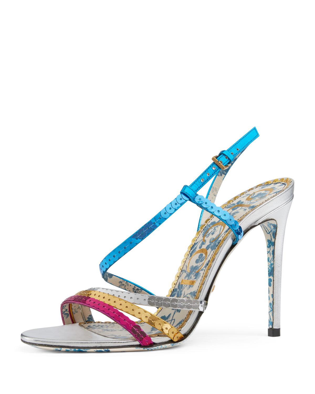 Chloé Multicolor Braided Haines Sandals 7FpHbAQ