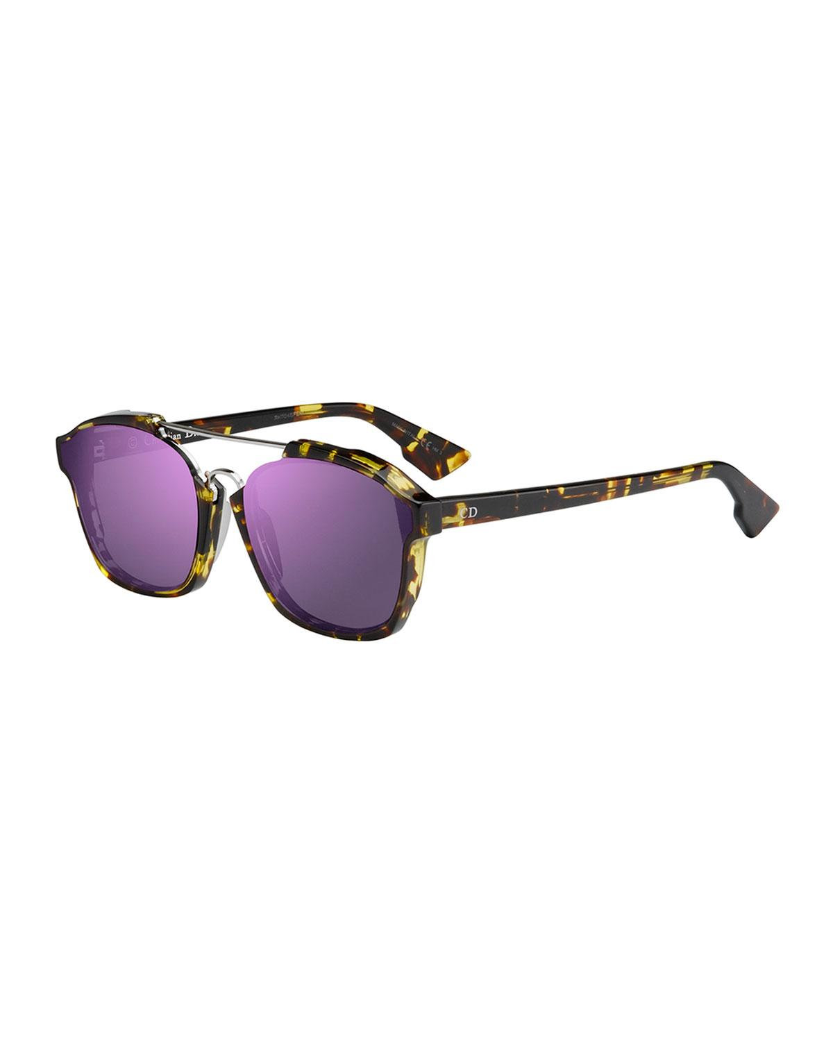 7a6c2f64dea Lyst - Dior Square Abstract Sunglasses in Black