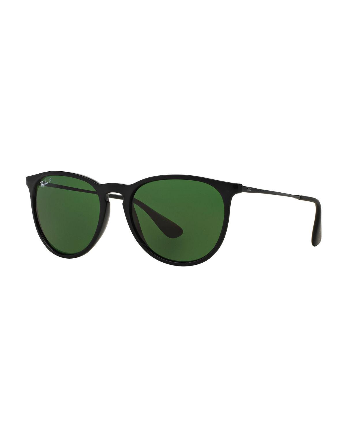 fc0f847259 Lyst - Ray-Ban Polarized Aviator Sunglasses in Green for Men