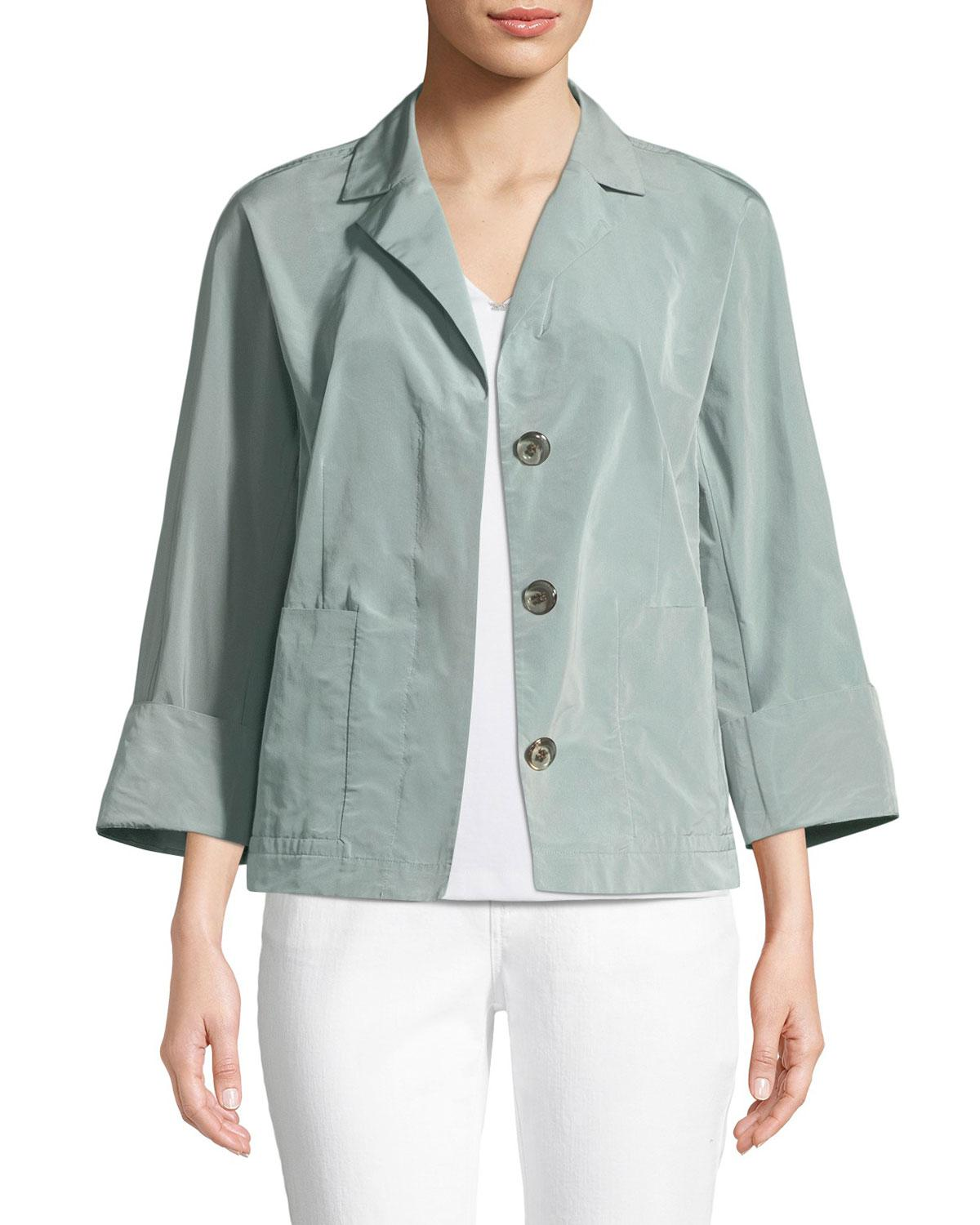 The Cheapest Shopping Online Lafayette 148 Quilted Button-Up Jacket Explore For Sale Cheap Sale New DWjEDB