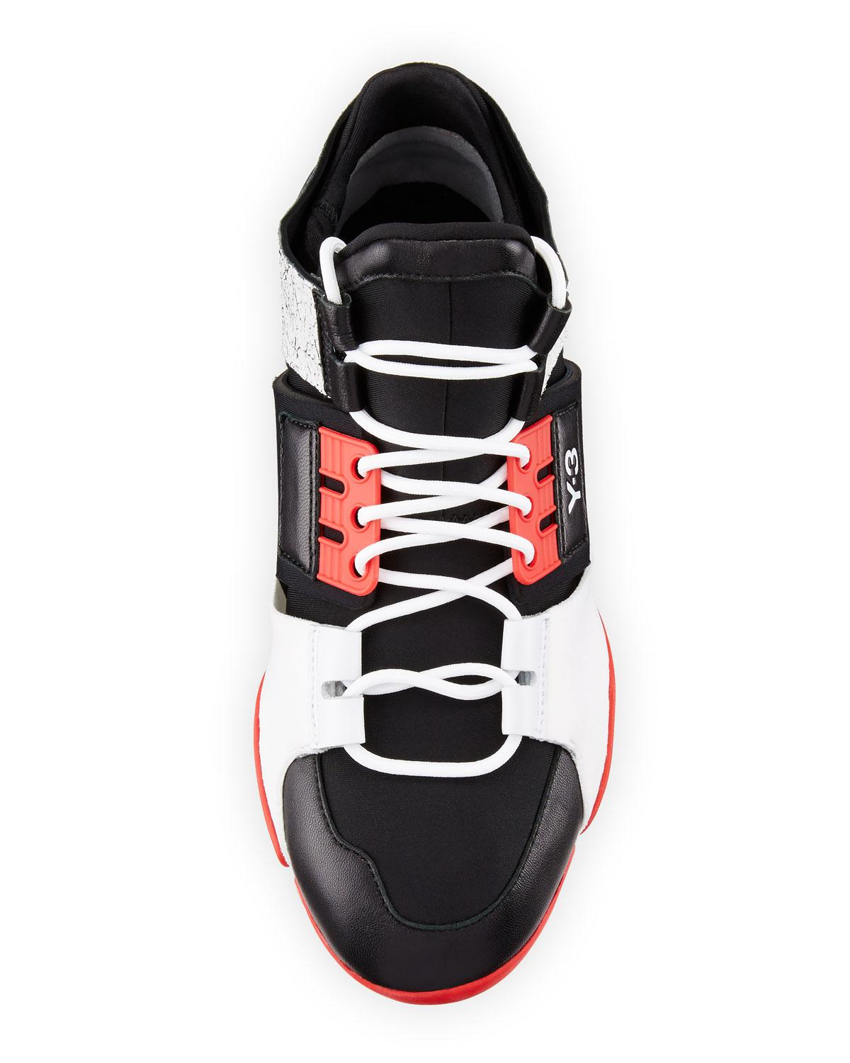 b3600a15adfbb Lyst - Y-3 Kanja Stretch Sneakers in Black for Men