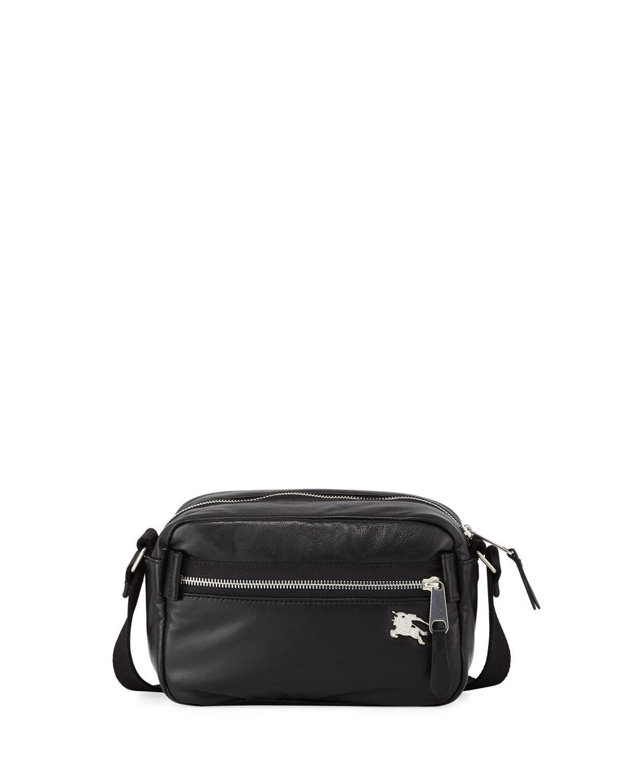Lyst - Burberry Men s Paddy Leather Belt Bag in Black for Men fd2c84b5ac627