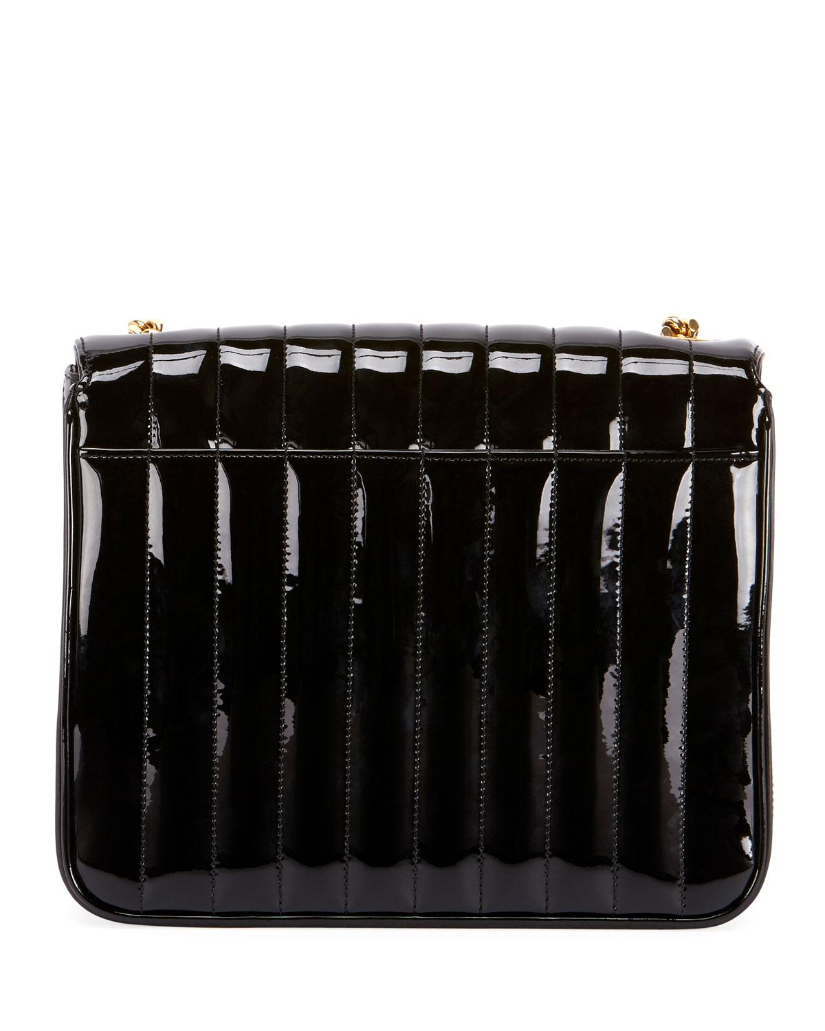 Saint Laurent - Black Vicky Monogram Ysl Large Quilted Leather Chain  Crossbody Bag - Lyst. View fullscreen 9c72207a66a81