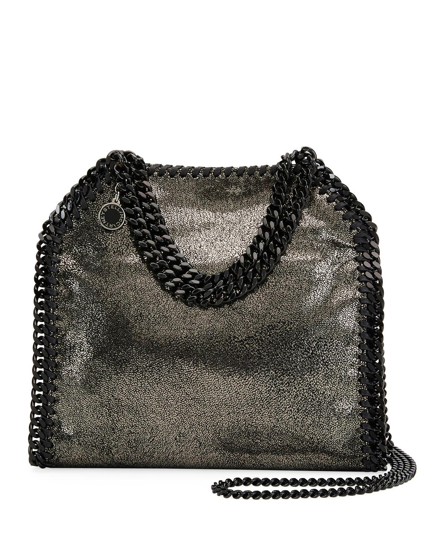 Stella McCartney. Women s Gray Falabella Tiny Metallic Dot Shoulder Bag ... e2f74d3d15b56