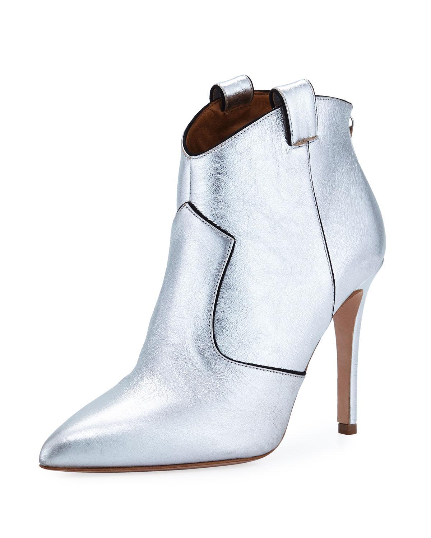 Pointed Beard Toe Veronica Boots In Save Lyst Metallic 50 xerCBdoW