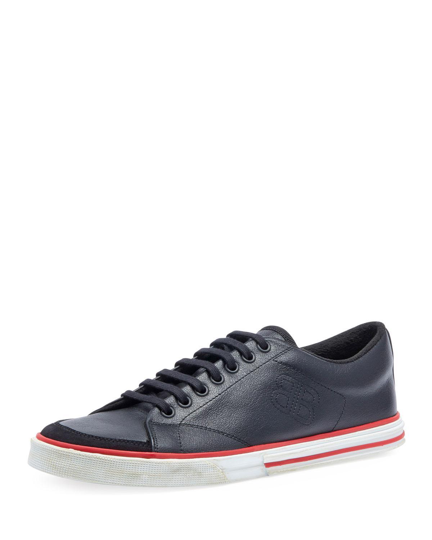 f7692c38c6f Balenciaga Men s Match Low-top Sneakers in Black for Men - Lyst