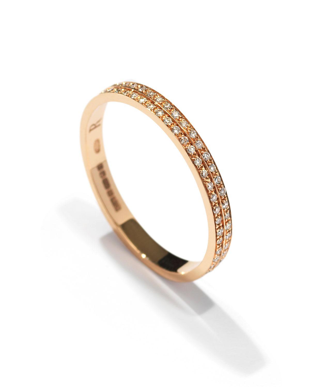 Repossi Technical Berbère Diamond Band Ring in 18K Gold pBcVRBHdv