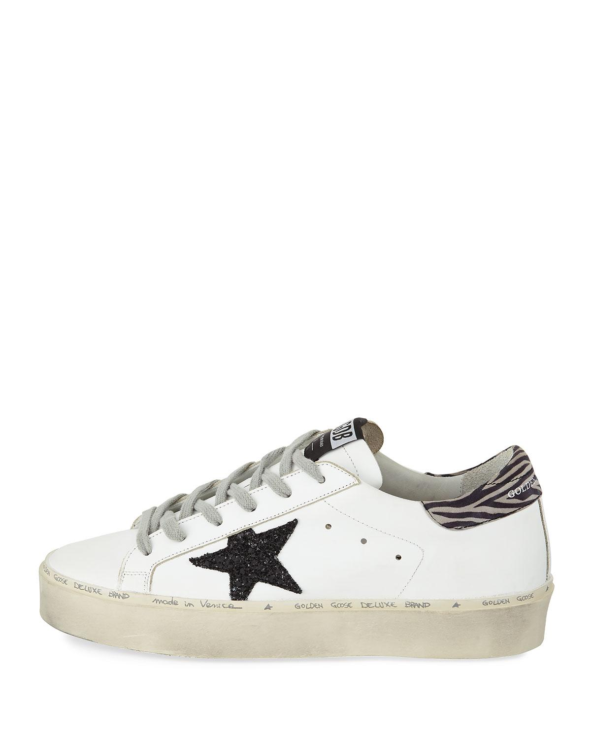 36726a28c508 Lyst - Golden Goose Deluxe Brand Hi Star Platform Sneakers in White