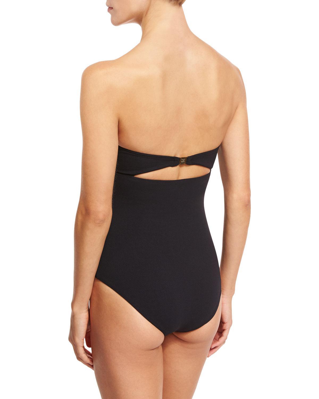 a65dc978c63b Marysia Swim - Black Antibes Scalloped One-piece Swimsuit - Lyst. View  fullscreen
